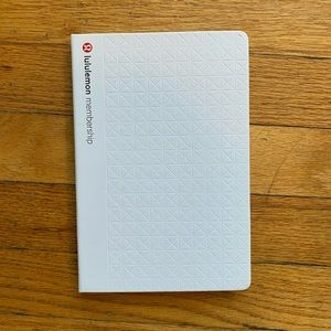 Lululemon Membership Journal NWOT